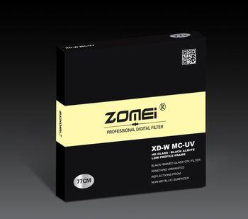 Zomei 49/52/55/58/62/67/72/77/82 Pro HD Slim MC UV Filter Multi-Coated MCUV Filter for Canon Nikon Sony Leica Sigma Lens