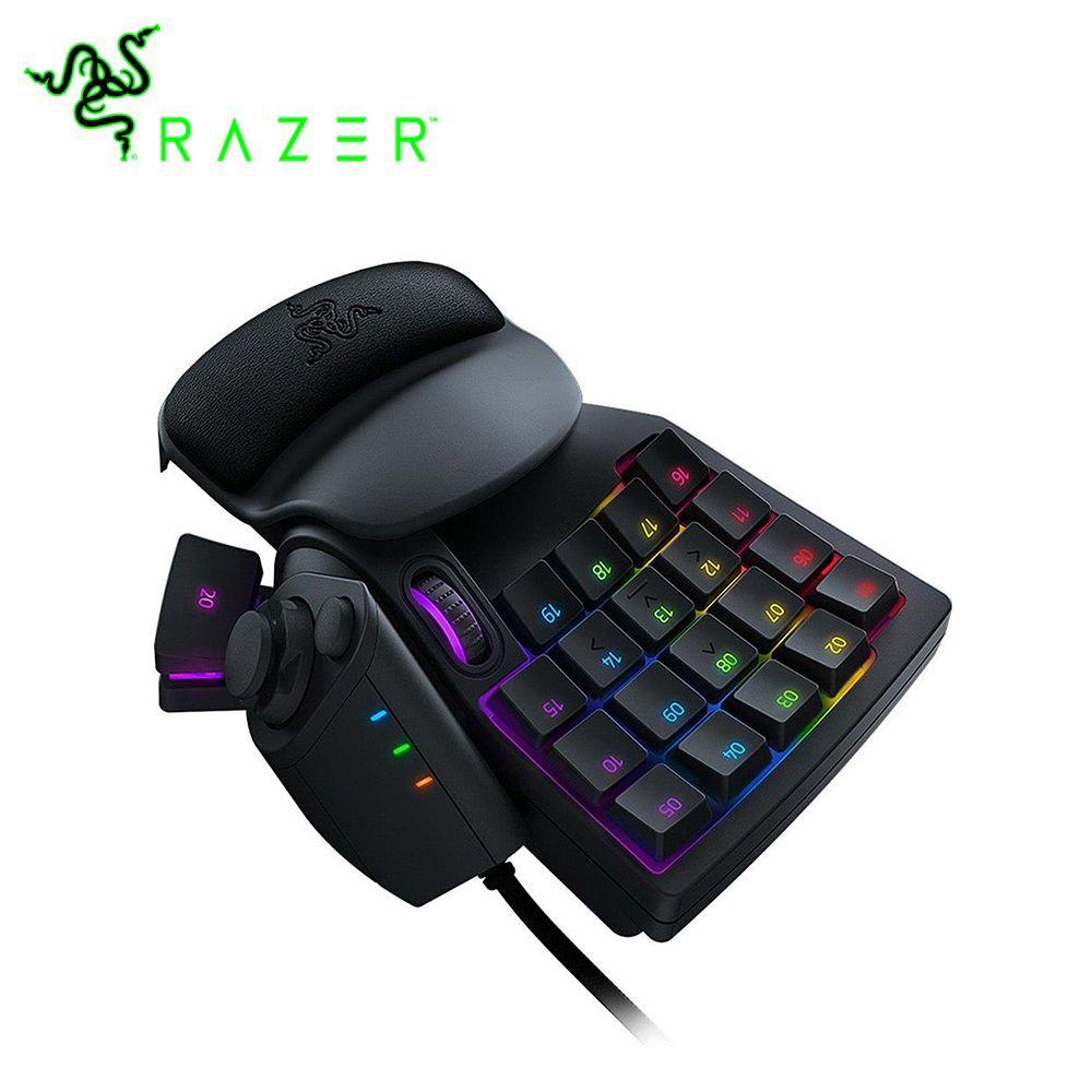 Clavier de jeu Razer Tartarus V2 Chroma Mecha clavier filaire 32 touches clavier filaire rétro-éclairage entièrement Programmable touches mécaniques