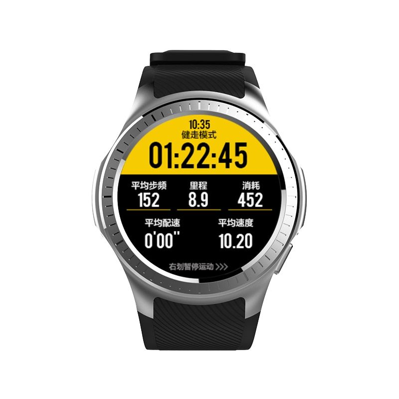 SMARTELIFE GPS Beidou Sport Smart Watch Cycling Running with Heart Rate Monitor Blood Pressure Barometer Camera for Android IOS