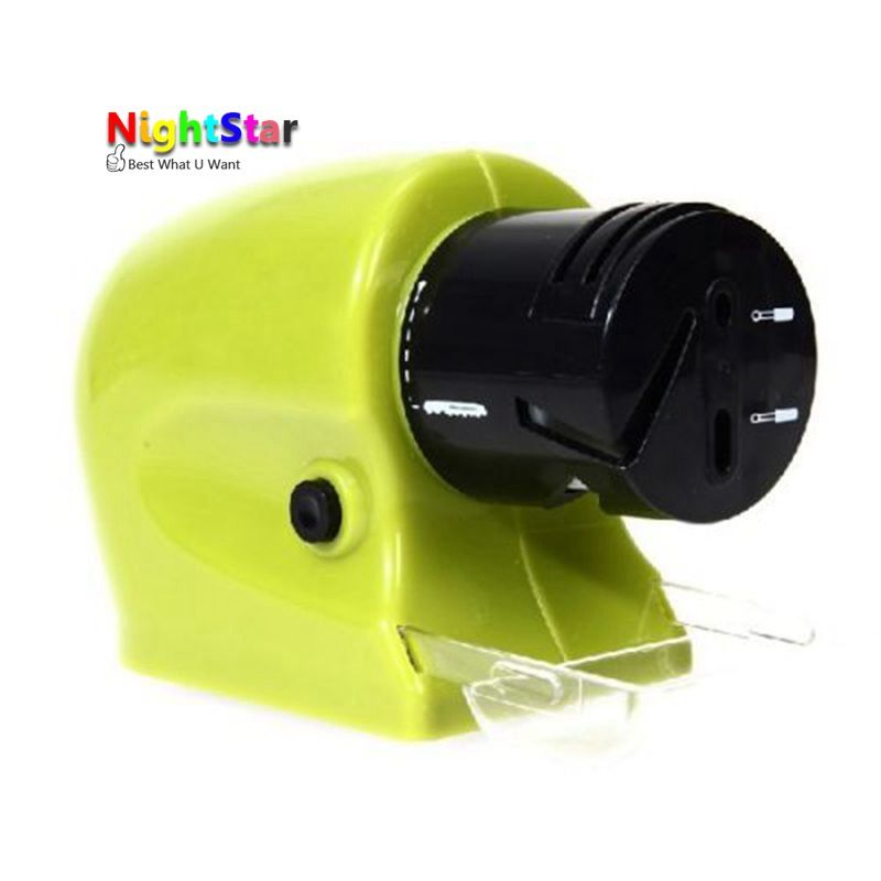 2016 NEW Professional Electric Ceramic Knife Sharpener Sharpening Stone Household Tools For Drill Wrench Adapter