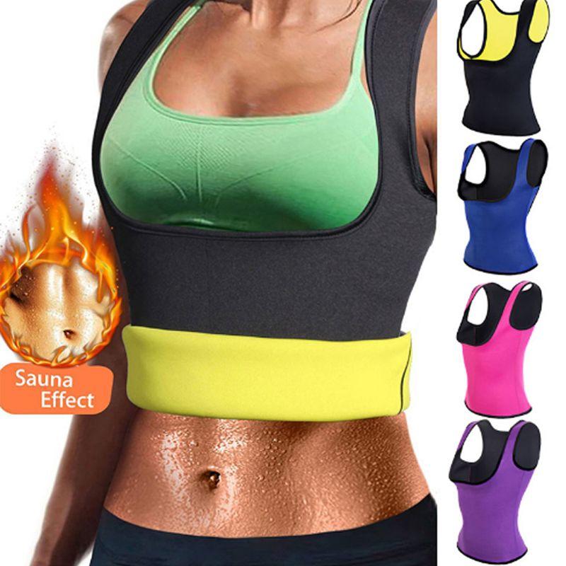 Miss Moly Hot Shapers Sauna Sweat Neoprene Body Shaper Women Slimming Thermo Push Up Vest Waist Trainer Cincher Corset *USPS*
