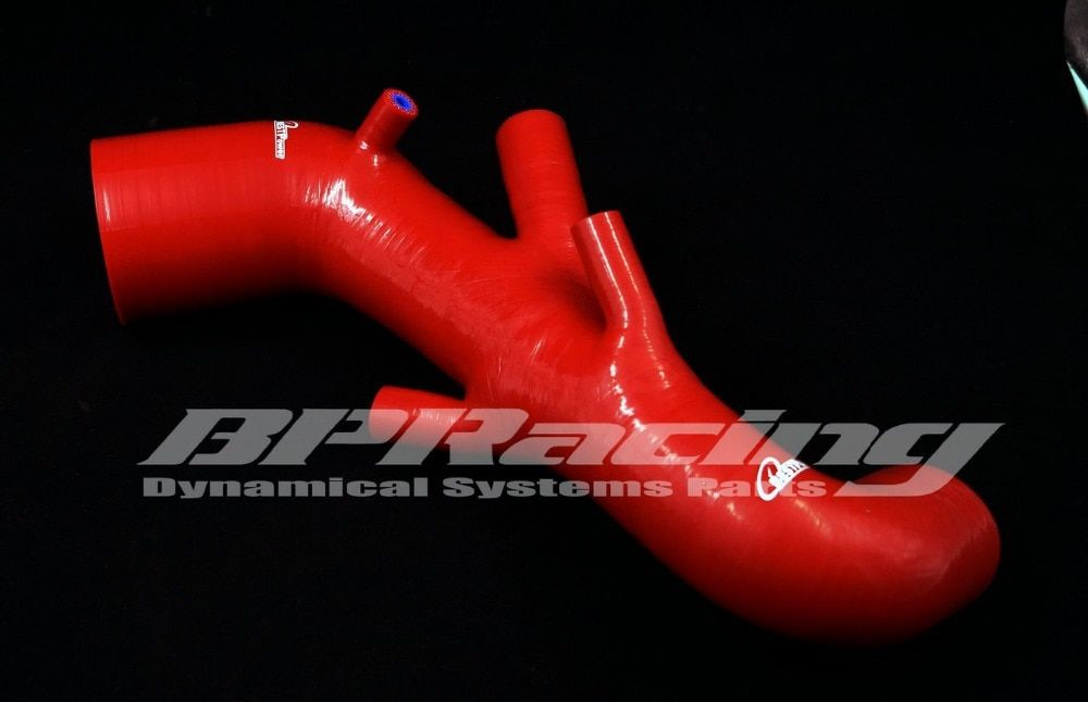 Silicone Intake Hose /silicone Induction Pipe  for  Audi T / S3 / 225 / Leon Seat Red