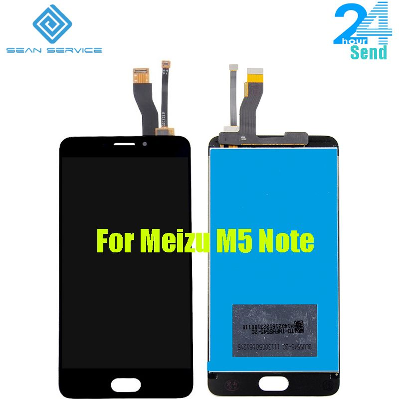 For Meizu M5 Note M621H M621Q M621M LCD Display+Touch Screen Digitizer Assembly 5.5 Inch 1920x1080P in stock