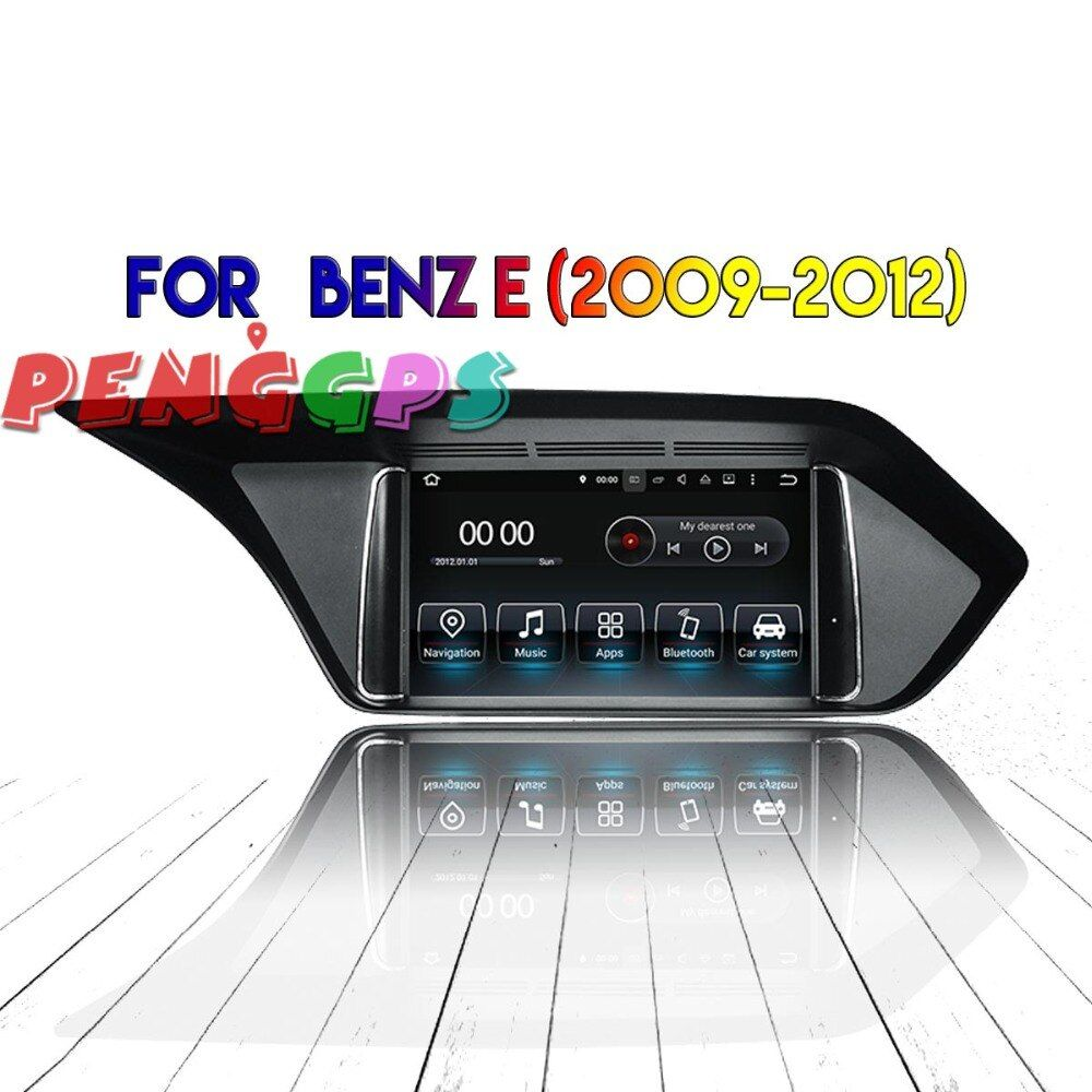 Android 8.0 7,1 Auto DVD Player Radio Stereo GPS Steuergerät für Mercedes Benz E W212 2009-2014 2015 2016 2017 IPS screen Multimedia