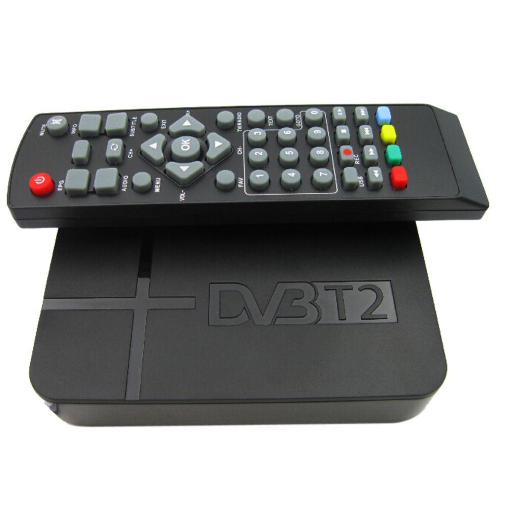 Full HD 1080 P K2 DVB-T2 цифрового видео наземного mpeg4 pvr приемник Смарт СТБ ТВ коробка с Дистанционное управление