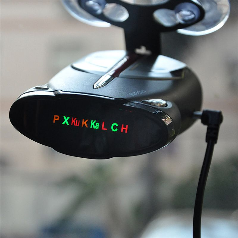 New Radar Detector Mobile Speed Detection Radar Alarm Support English and Russian Voice Announcement XRS 9880/9345/9740