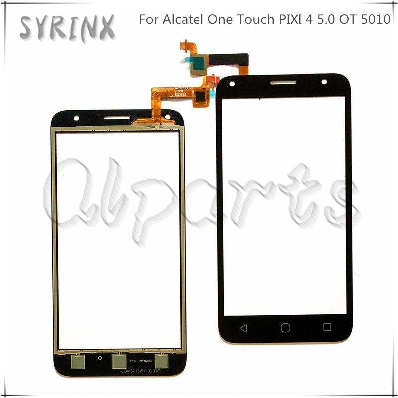 Syrinx Écran Tactile En Verre Pour Alcatel One Touch PIXI 4 5.0 OT 5010 OT5010 5010D 5010E 5010G OT-5010 Écran Tactile Digitizer capteur