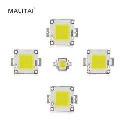 Белый/теплый белый 10 W 20 W 30 W 50 W 100 W чип со светодиодной подсветкой AC/DC 12 V 36 V интегрированный в COB светодиодный лампы Сделай Сам прожекторная с...