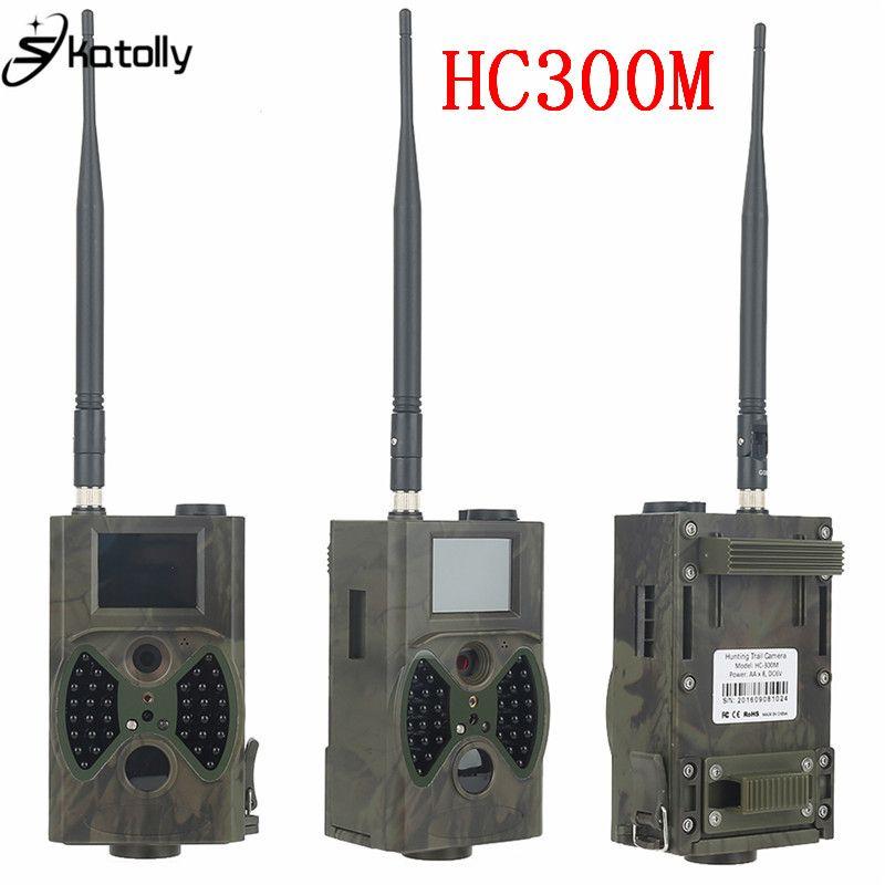 Skatolly HC300M Full HD 12MP 1080P Video Night Vision Huting Camera MMS GPRS Scouting Infrared Game Hunter Trail Camera