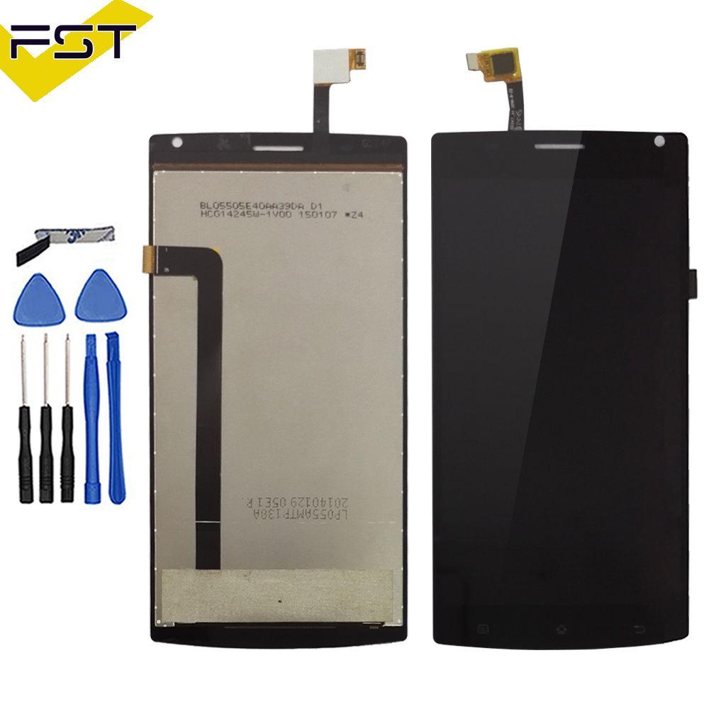 For 5.5'' MegaFon Login+MFLoginPh TOPSUN_G5247_A1 Touch screen lcd display screen assembly for Megafon login plus+tools