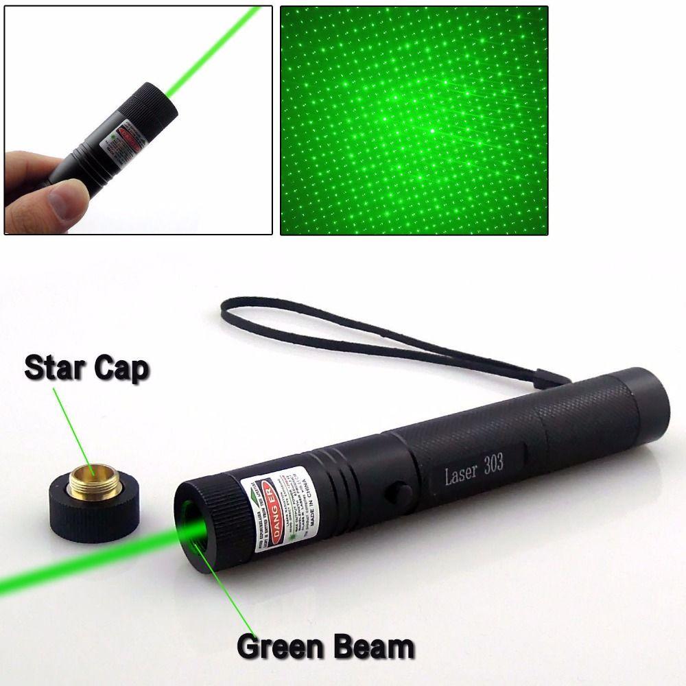 Puissant viseur de pointeur Laser 532nm couleur verte Verde portée de fusil Astro Puntero CNC Laser mise au point fixe avec batterie 18650