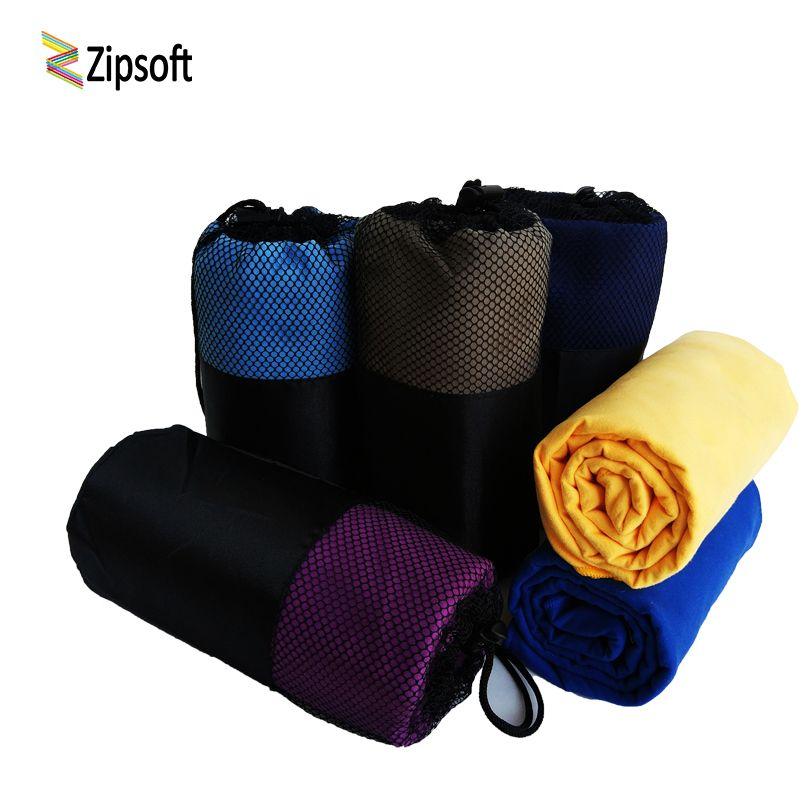 Zipsoft serviette de sport serviette de plage microfibre tissu maille sac à séchage rapide couverture de voyage natation Camping Yoga tapis noël