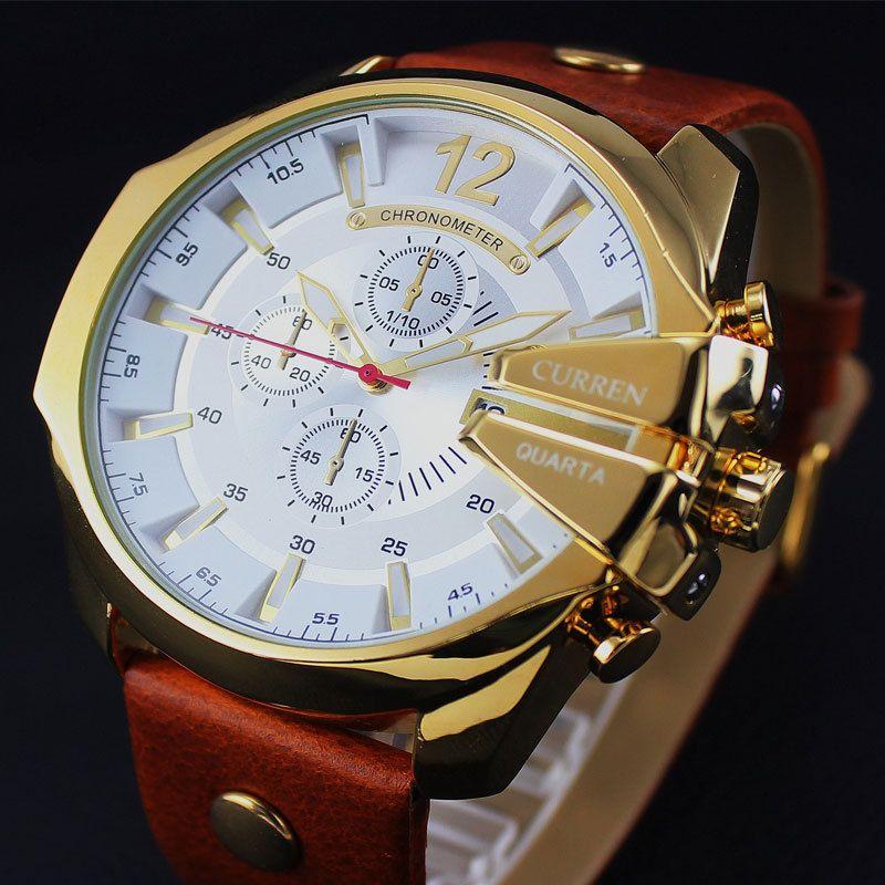2018 Style Fashion Watches Super Man Luxury Brand CURREN Watches Men Women Men's Watch <font><b>Retro</b></font> Quartz Relogio Masculion For Gift