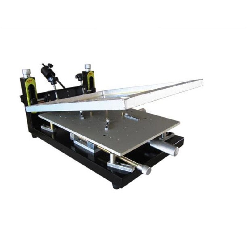 PUHUI High Precision Solder Paste Printer PCB board welding 300x400mm Manual Stencil Printer Silk Printing Machine