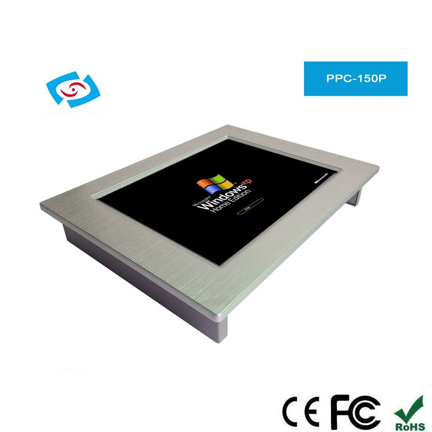 2018 New Arrival 15 inch Industrial Panel PC Touch Screen Dual Core Processor Cheap Price