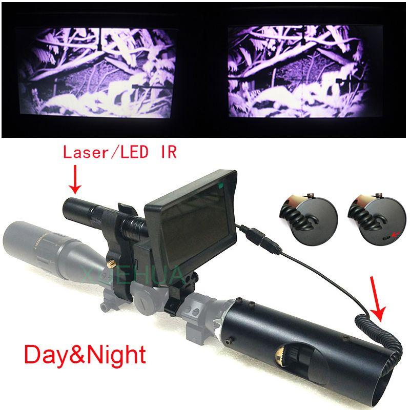 2018 neueste Outdoor Jagd optische anblick Taktische digitale infrarot-nachtsicht Jagd Kameras verwenden in tag oder dunkle nacht