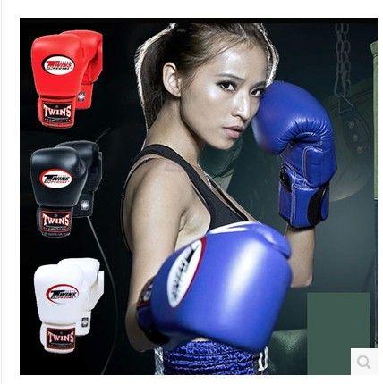 BEST SELLING twins boxing gloves adult playing sandbags men / women fight training sanda muay Thai boxing gloves