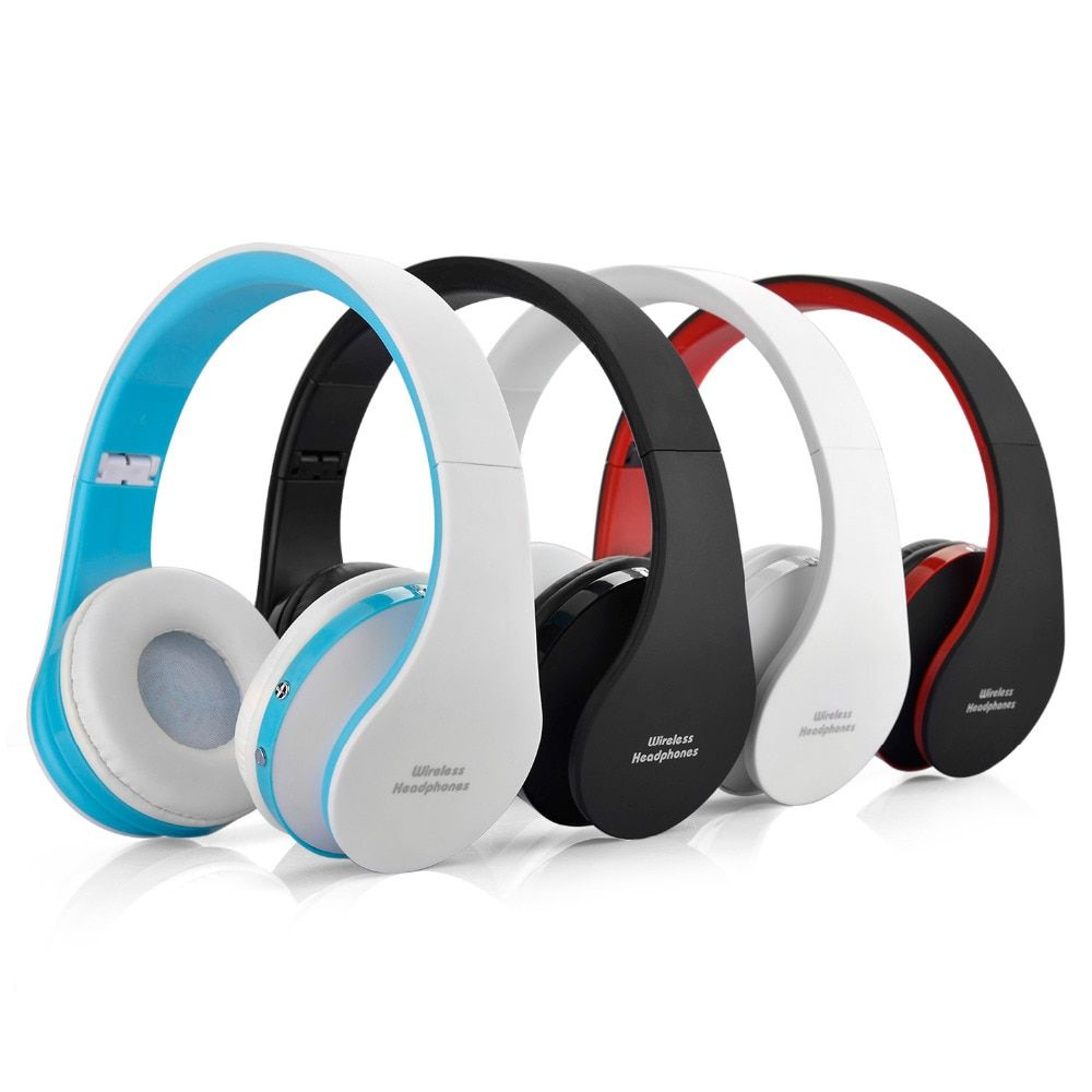 Wireless headphones bluetooth Noise <font><b>Cancelling</b></font> Headset Stereo Foldable PC with microphone Earphone Mp3 Player for Samsung Galaxy