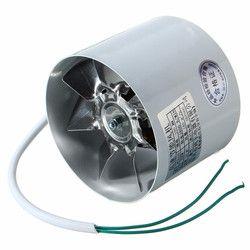 4 Pouce Inline Conduits Fan de Métal 220 V 20 W 2800R/Min Conduit Booster de Ventilation Ventilateur D'échappement Ventilateur Conduit De ventilation Accessoires 10x7.5 cm