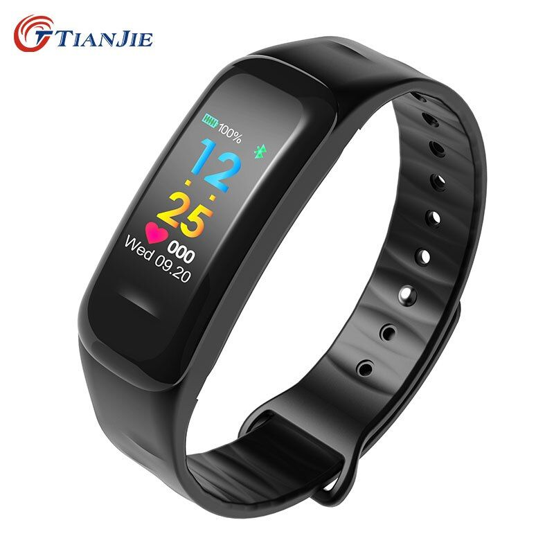 TIANJIE C18 Water Proof Heart Rate Monitor blood pressure fitness smart bracelet clock watches for xiaomi huawei iPhone