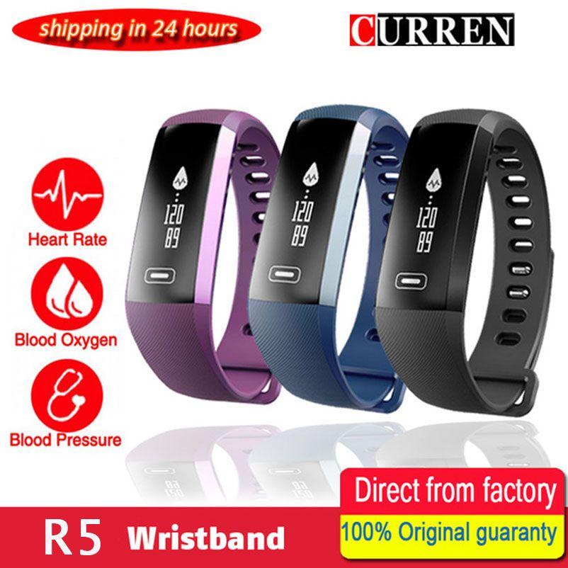 Original M2 Smart wrist Band R5 PRO Heart rate <font><b>Blood</b></font> Pressure Oxygen Oximeter Sport Bracelet Watch intelligent For iOS Android