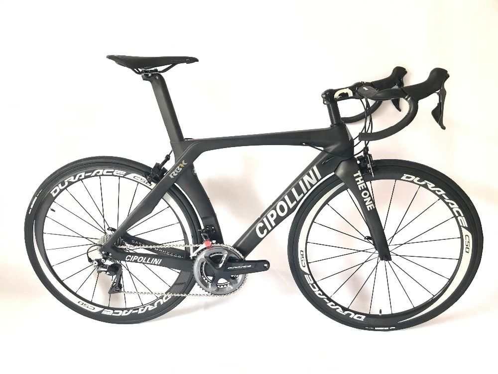 2018 Cipollini RB1K THE ONE carbon road bike complete bicycle carbon BICICLETTA bicycle bike group R8000carbon 50mm clincher