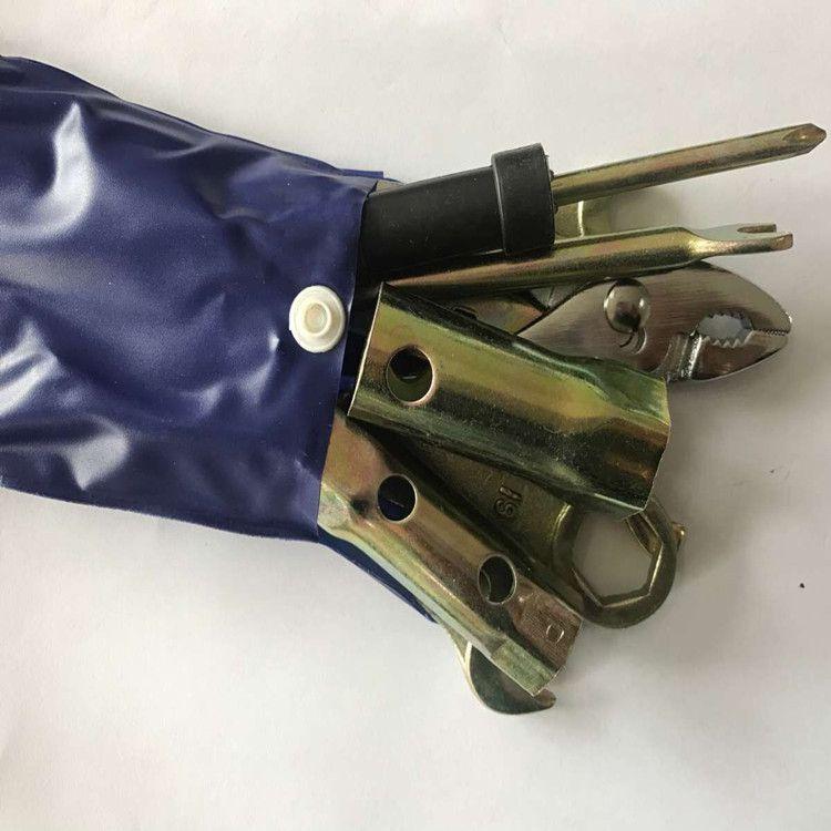 YOFE 9 pièces Kit d'outils à main pour réparation de voiture ensemble d'outils pince Scewdriver clé à douille outil moto kit d'outils de réparation un ensemble de clés