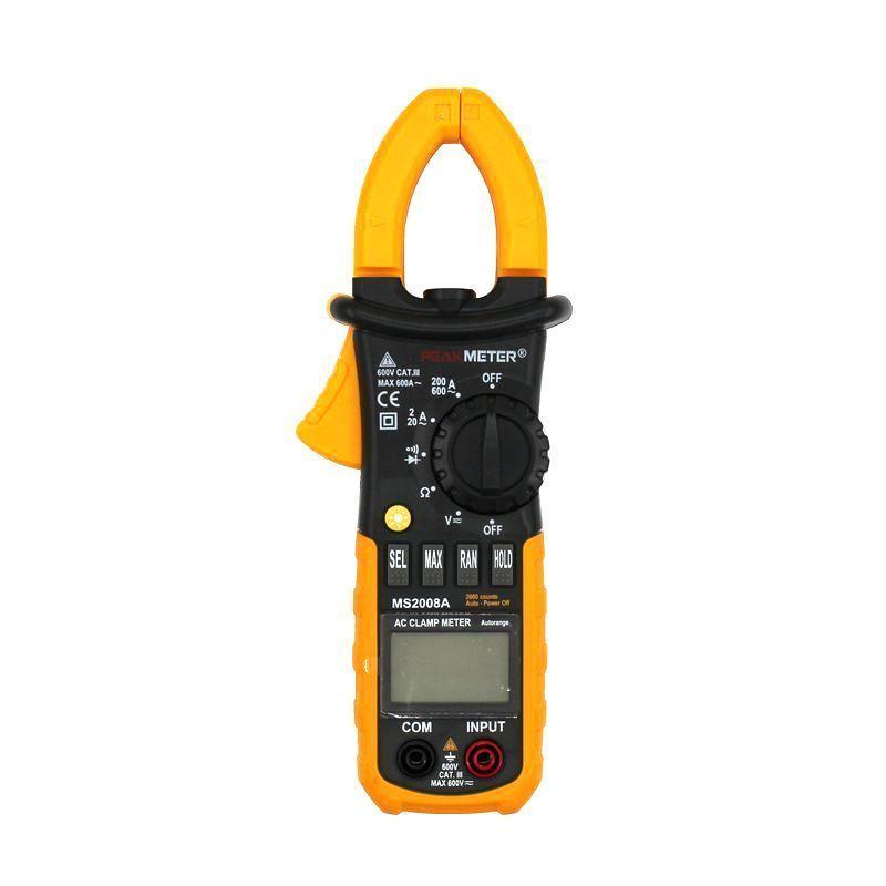 MS2008A Professional Digital Multimeter AC/DC Voltage Current Clamp Meter Measurement Diagnostic-tool Analysis Instruments