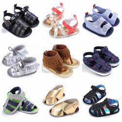 Infantile Nouveau-Né Bébé Garçon Filles Enfants Chaussures Lit Bebe Chaussures Premiers Marcheurs D'été À Semelle Souple Anti-Glissement Bébé Prewalkers chaussures