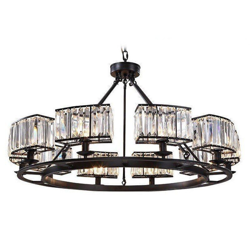 Kristall Hanglamp Industrieel Suspension Glanz E Pendente Para Sala De Jantar Lampen Moderne Leuchte Suspendu Hängen Lampe