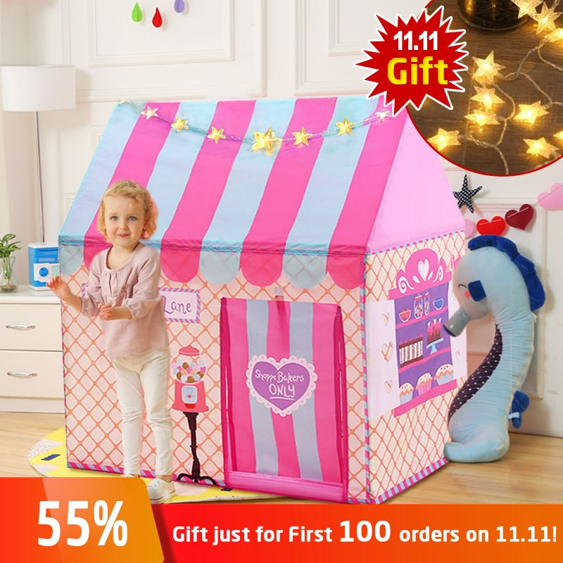 YARD Kids Toys Tents Kids Play Tent Boy Girl Princess Castle <font><b>Indoor</b></font> Outdoor Kids House Play Ball Pit Pool Playhouse for Kids