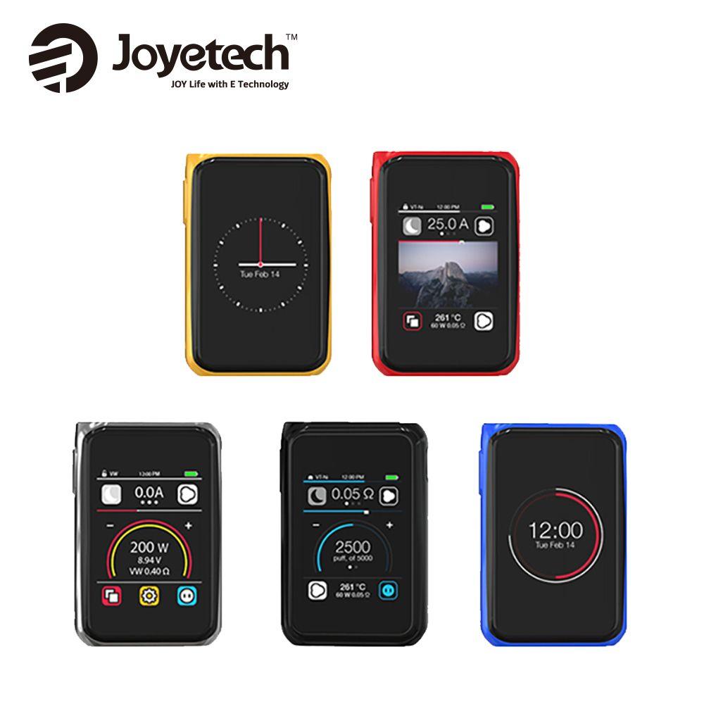 Original 200W Joyetech CUBOID PRO TC MOD 2.4-inch Touch Screen Mod Fit ProCore Aries Atomizer No 18650 Battery Vs G-PRIV 220 MOD