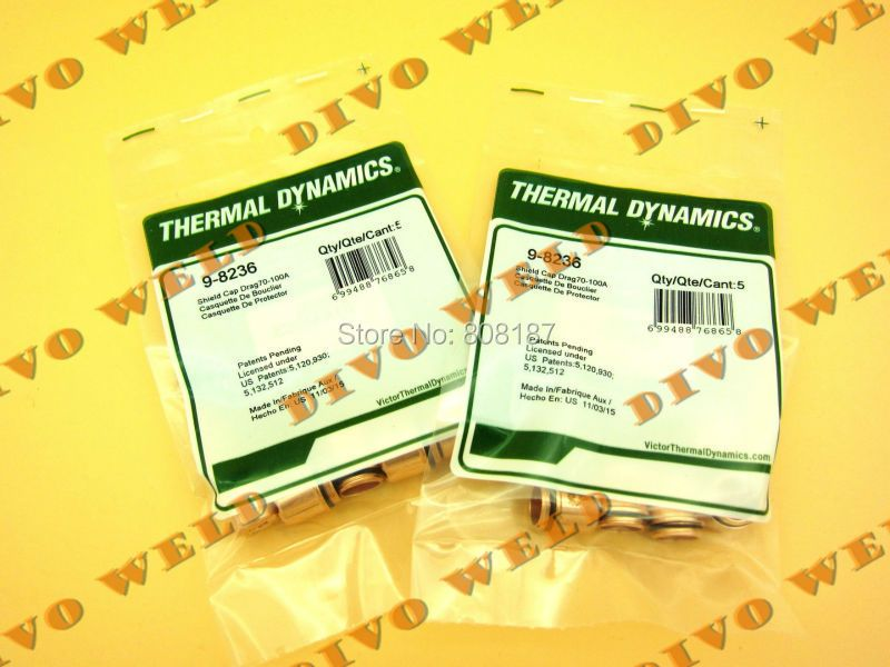 30pcs 9-8236 Shield Cap,Drag,70-100A for thermal dynamics SL60~SL100 Free shipping TNT(4 day you will get after paid)