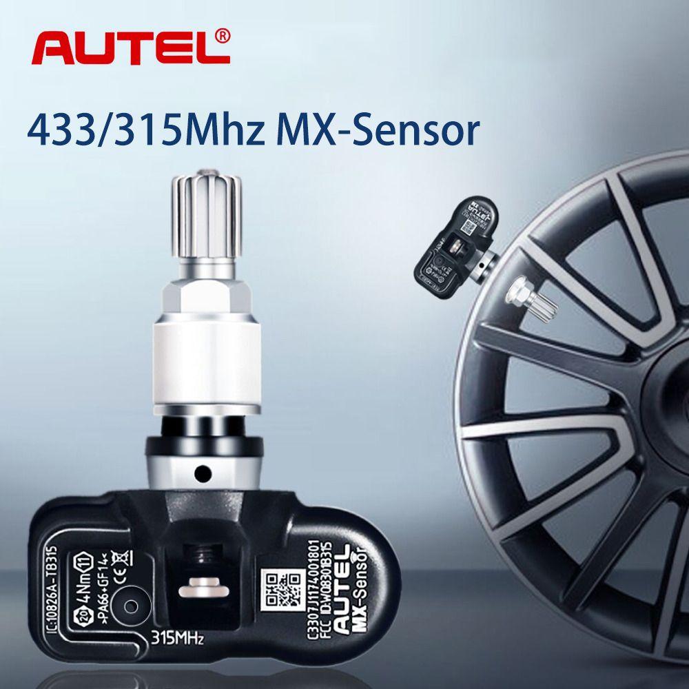 Autel TPMS Sensor 433 MHz/315 MHz Reifen Reparatur Auto Auto Repair Tool TPMS Sensor Reifendruck Überwachung MX SENSOR Werkzeug