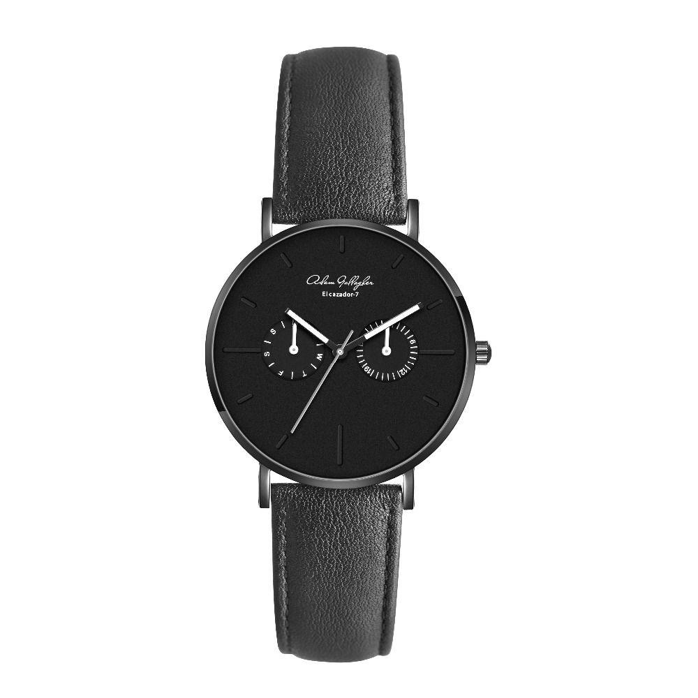 Adam Gallagher Top Luxusmarke quarzuhr männer Casual Japan Armbanduhr edelstahlgewebe band ultradünne uhr männer uhr