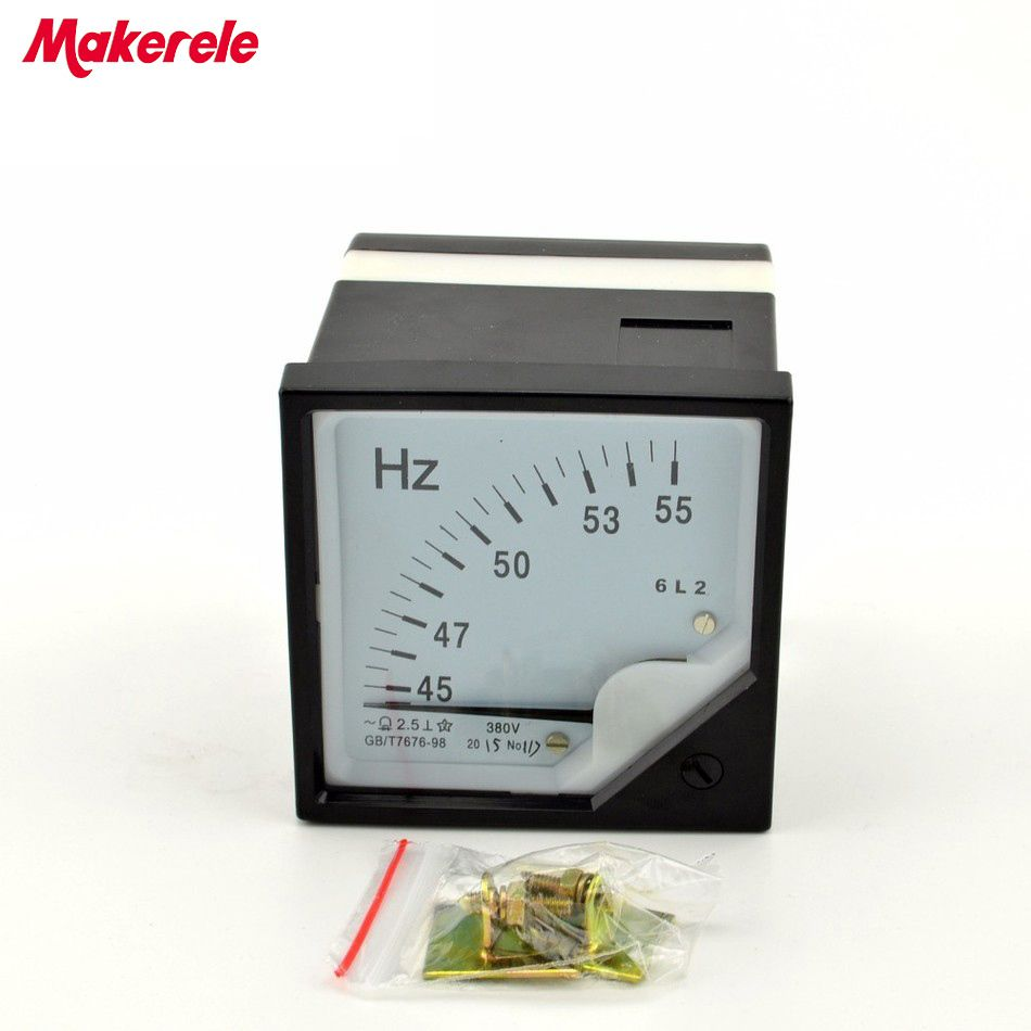 MK6L2(HZ 380) frequency meter Pointer Diagnostic-tool Tester Cymometer Frequency Portable Counter Swr Meter hertz