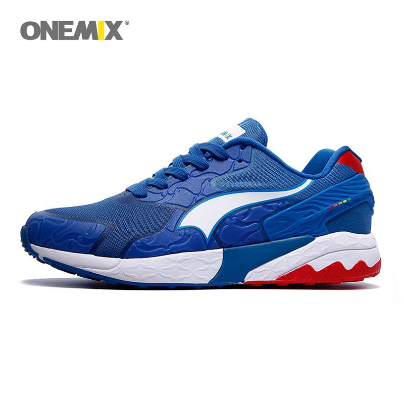 ONEMIX men's running shoes women sneakers for training sports shoes gym sneakers elastic outdoor shoes for jogging walking 1109