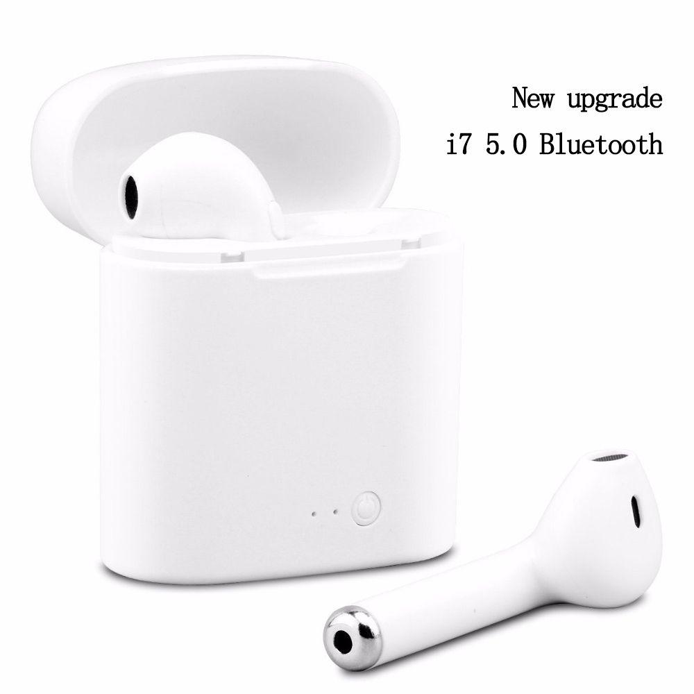 Écouteur Bluetooth sport course stéréo écouteur Sans Fil Bluetooth Casque Casque Sans Fil bluetooth Casque avec microphone i7s