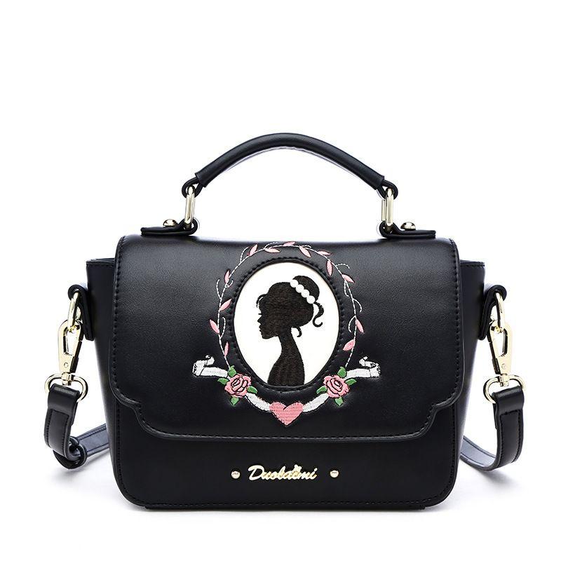 2018 Ladies handbag fashion crocodile pattern Korean version of the purse women bag high quality