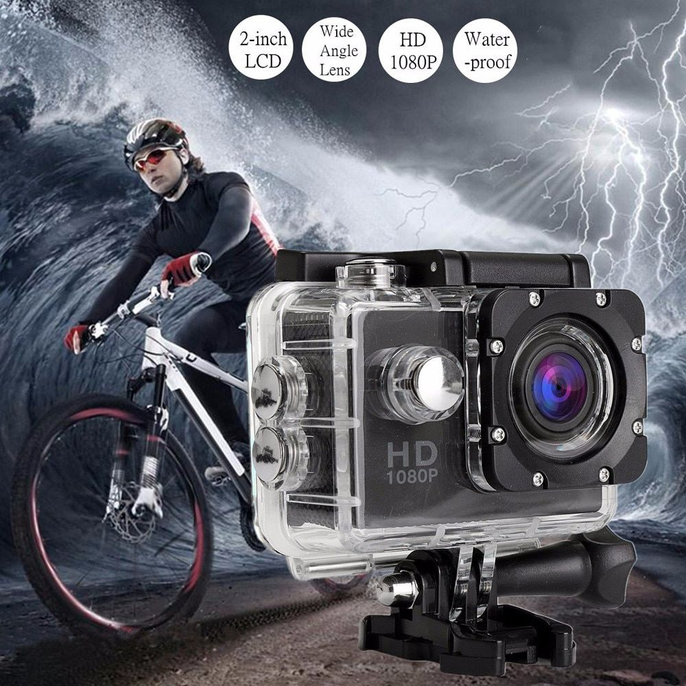 2018 Sports Action Camera Waterproof Full HD Sports Action Camera DVR Cam DV Video Camcorder Jn.18