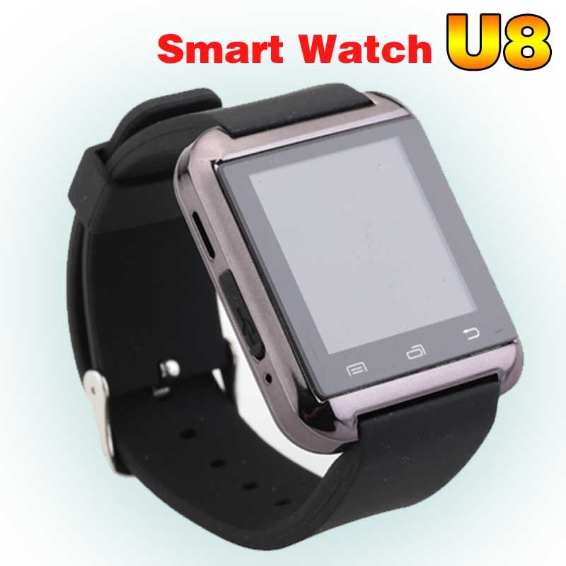 Montre Smart Watch U8 Femme/Homme Sport Bluetooth Smartwatch Fitness Tracker pour Android IOS Téléphone PK Apple Montre GT08 DZ09 U80