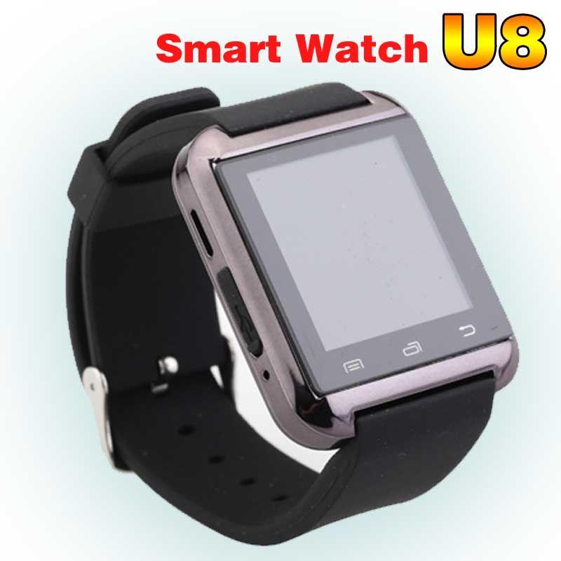 Montre Smart Watch U8 Femme/Homme Sport Bluetooth Smartwatch Fitness Tracker pour Android IOS Téléphone PK Apple Montre GT08 DZ09 U80