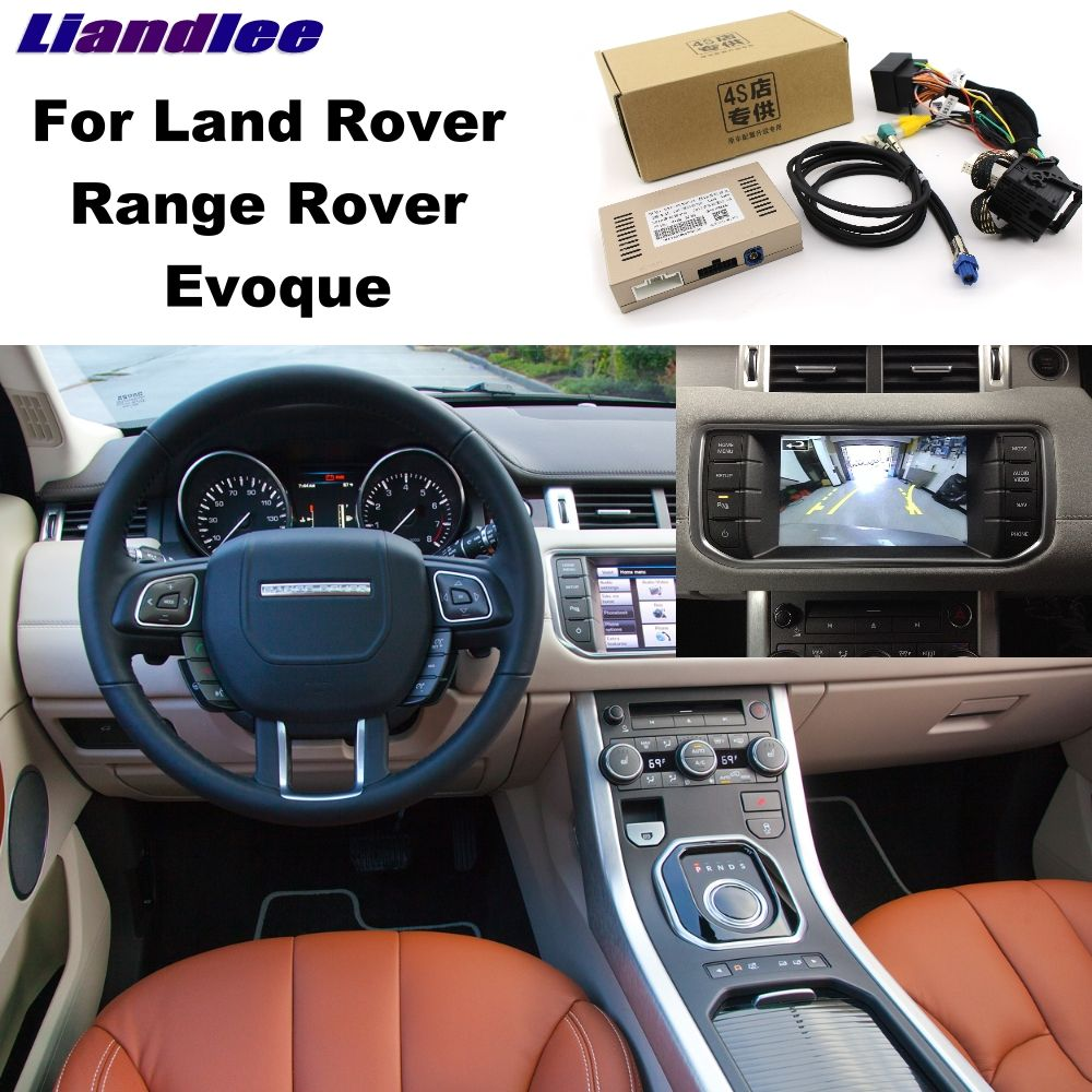 Liandlee Parkplatz Kamera Interface Umge Back Up Park Kamera Kits Für Rover Evoque Original Display Verbesserte