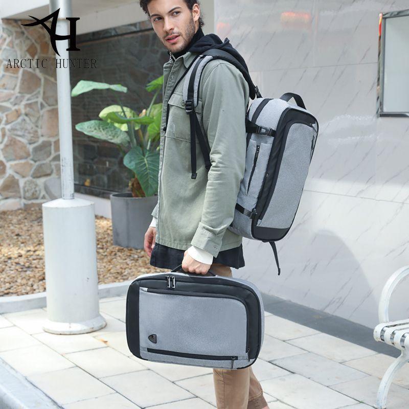 ARCTIC HUNTER Multifunction 17 inch Laptop Backpacks For Teenage Men Travel Backpack Bag Large Capacity Casual Vintage 2018 New