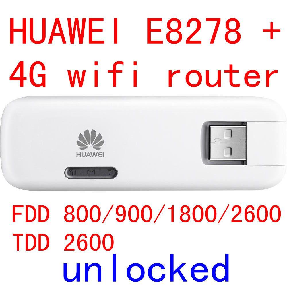 Entriegelte Huawei E8278 4g 150 Mbps lte 4g USB wireless Modem e8278s-602 4g wifi stick Für mac Android pad pk e8372 e3372 e3276