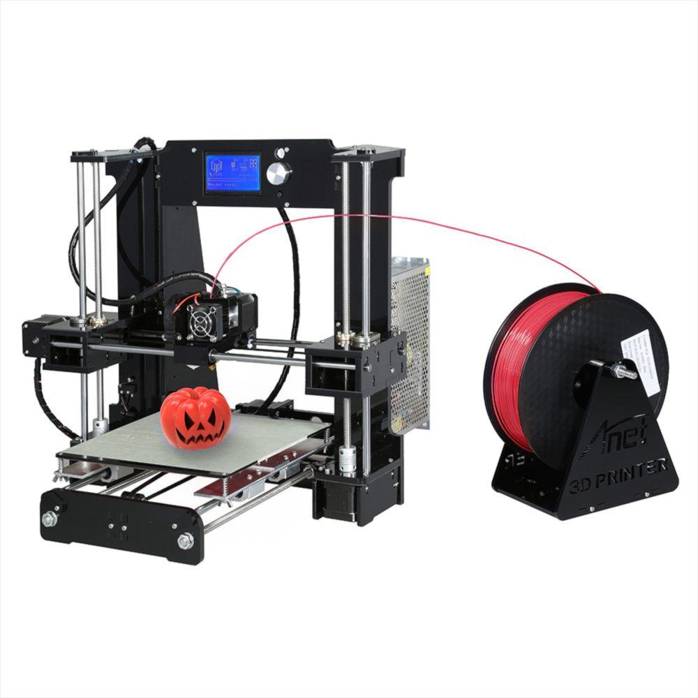2017 Anet A6 3D Printer DIY Large Printing Size 220*220*250mm Precision Reprap Prusa i3 DIY 3D Print with Filament & Card&Video