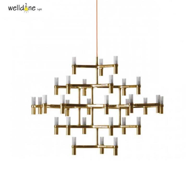 Crown Nemo crown minor chandelier Postmodern Art Lighting for hotel Living room Bedroom Lobby Villa Stairs Droplight Candle