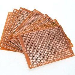 10Pcs DIY Prototype Paper PCB Universal Experiment Matrix Circuit Board 5x7CM
