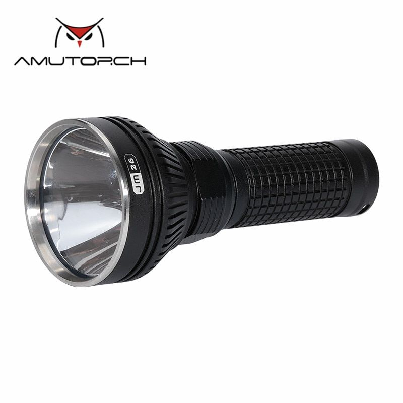 AMUTORCH JM26 CREE XPL HI/HD/SST40/XM L2-U4 powerful LED flashlight linterna torch 26650 tactical flashlight