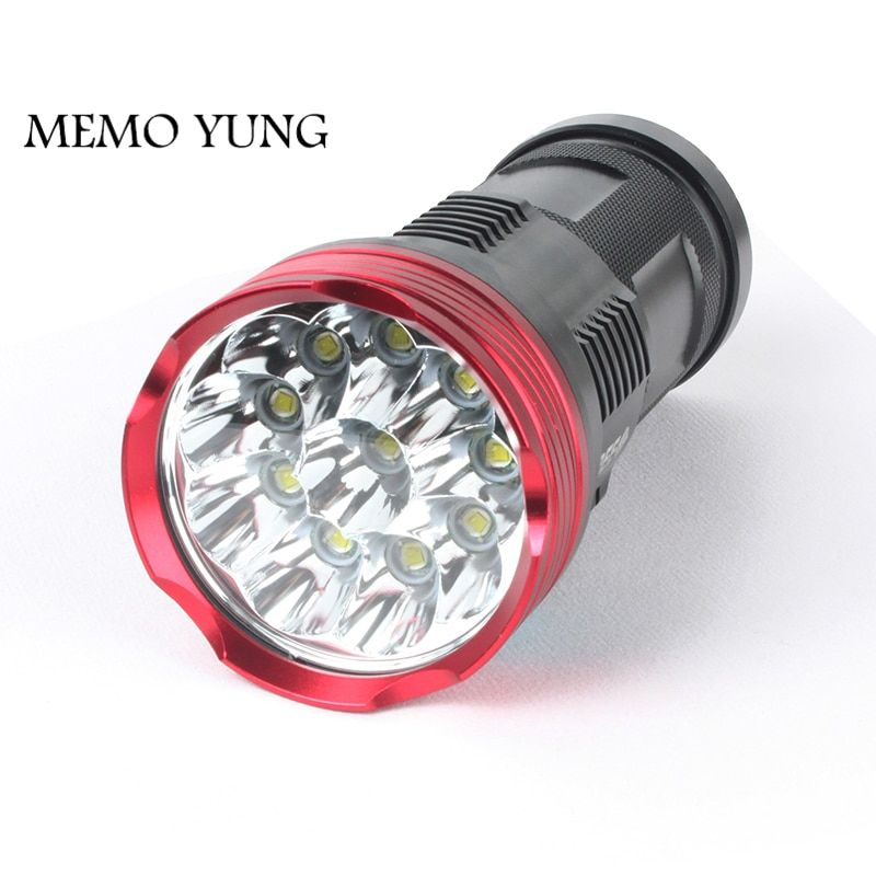 20000 lumens puissantes lampes de poche SKYRAY King 10T6 torche LED 10x CREE XM-L T6 lampes de poche LED torche pour batterie 18650